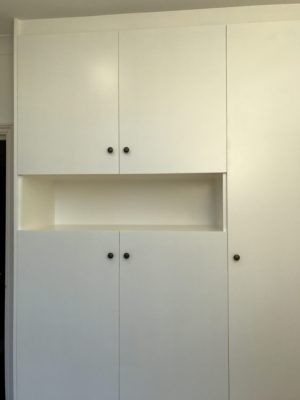 Carpentry, Built-In Wardrobe and Bookshelf, Swiss Cottage, NW3